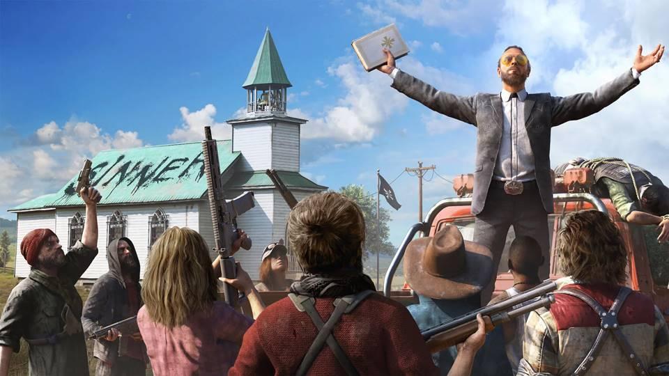 Far Cry 5 svůj stín bohužel nepřekročil. Navíc nasekal nové chyby – recenze