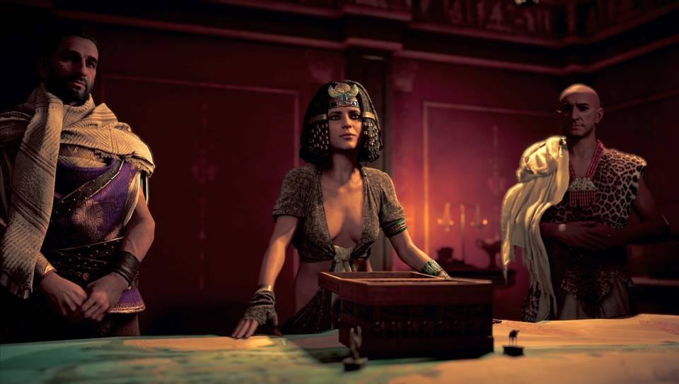 Assassins creed origins cleopatra porn