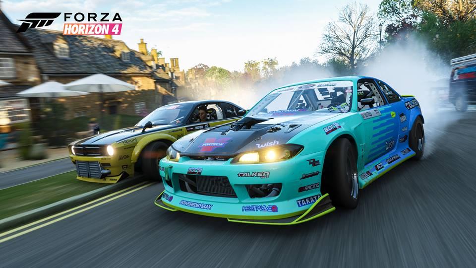 Forza Horizon 4 je pořád stejně zábavná, ale navíc s ročními obdobími – recenze