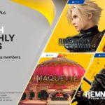 Další měsíc, další nálož pořádných her zdarma pro PS Plus