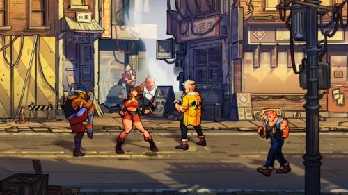 Streets of Rage 4 - screenshoty