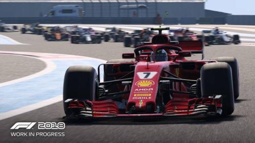 F1 2018 - screenshoty