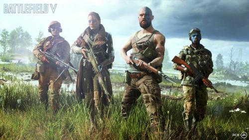 Battlefield 5 - screenshoty